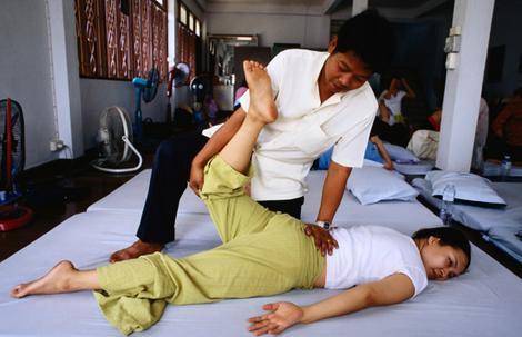 apprendre massage thailande