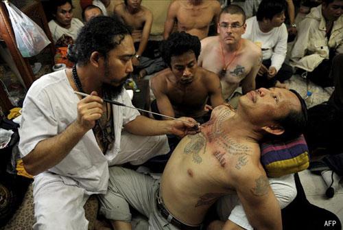 tatouage magique thailande