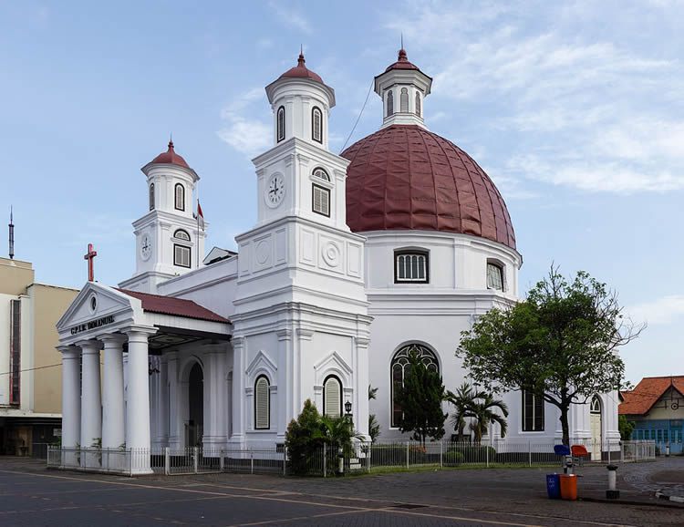 Blenduk Church, Semarang